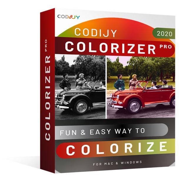 CODIJY Colorizer pro Box shot