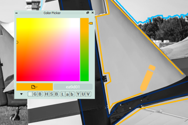 Colorization process in CODIJY